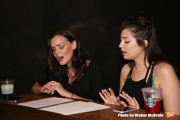 Photo Coverage: Go Inside Rehearsals For A LASTING IMPRESSION at NYMF