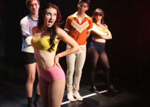 Brandon Carter, Victoria Rafael, Xavier Castaneda, and Angeline Mirenda Photo
