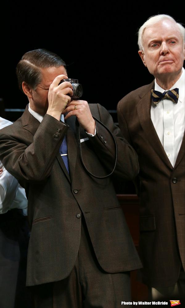 Robert Petkoff and John McMartin