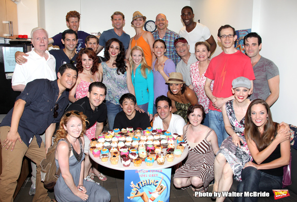 John McMartin, Sutton Foster, Walter Charles, Jessica Walter, Adam Godley, Colin Donnell, Jessica Stone & Laura Osnes