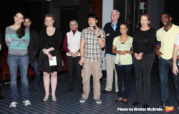 Sutton Foster, Kathleen Marshall, Raymond J. Lee, John McMartin, Jessica Walter