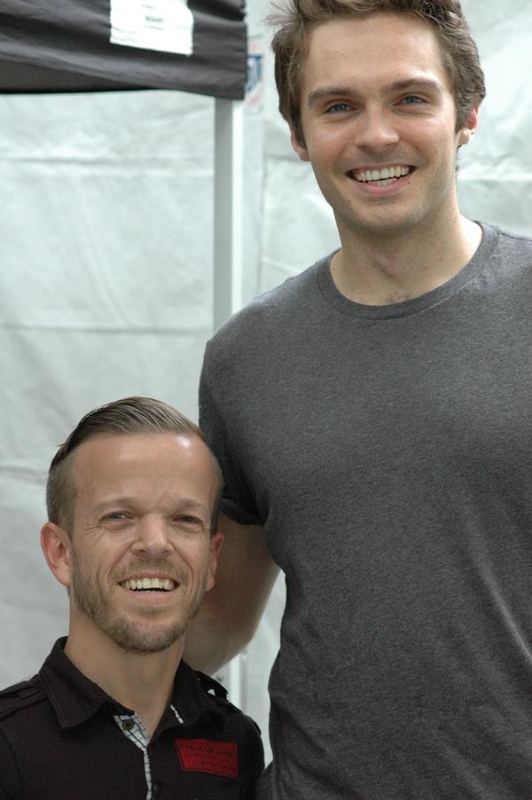 Josh Walker and Max Sheldon