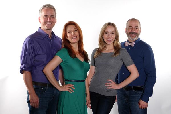Robert J. Townsend, Misty Cotton, Jill Townsend and James Vasquez