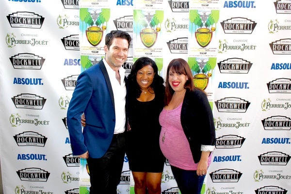 Photo Flash: Original Stars of TROOP BEVERLY HILLS Strut Red Carpet at Rockwell's Musical Parody Opening