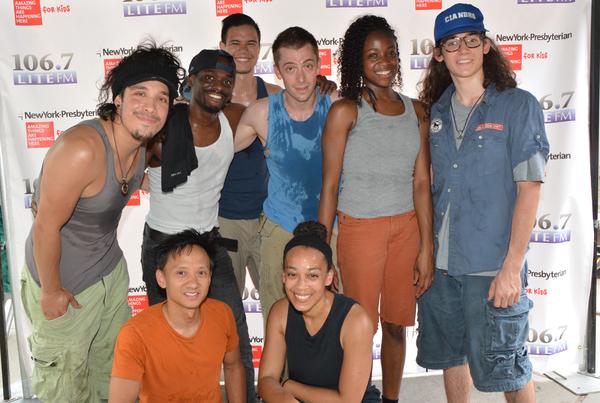 The Cast of Stomp-Alan Asuncion, Cade Slattery, Eric Fay, Ivan Salazar, Krystal Renee, Reggie Talley, Simeon Weedall and Stephanie Marshall