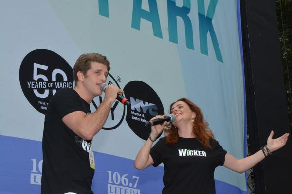 Jonah Platt and Rachel Tucker