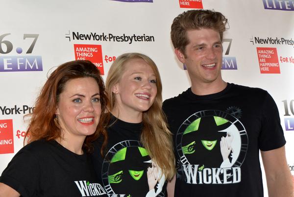 Rachel Tucker, Carrie St. Louis and Jonah Platt