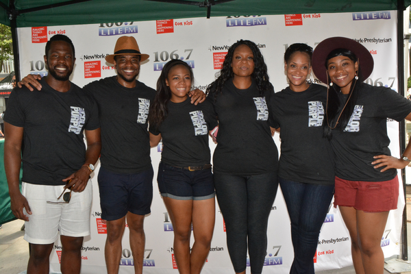 Antoine L. Smith, Akron Watson, Adrianna Hicks, Carrie Compere, Rema Webb and Phoenix Best