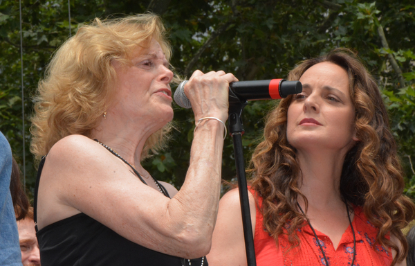 Carole Demas and Melissa Errico Photo
