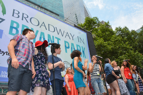 Photo Coverage: WICKED, THE COLOR PURPLE & More Kick Off Broadway In Bryant Park 2016!