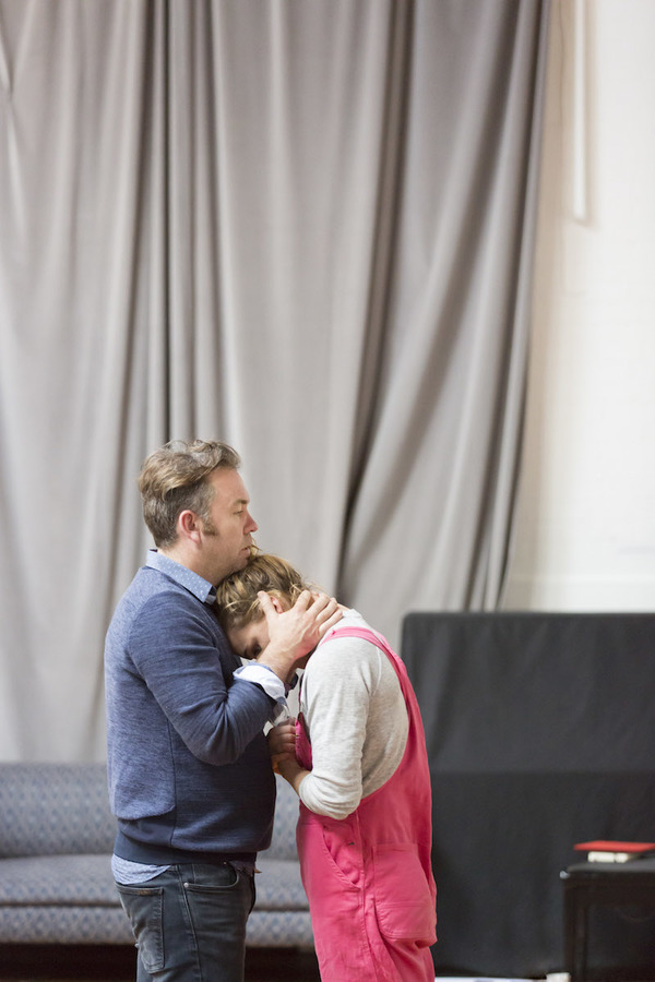 Photo Flash: In Rehearsal with Billie Piper for YERMA at the Young Vic