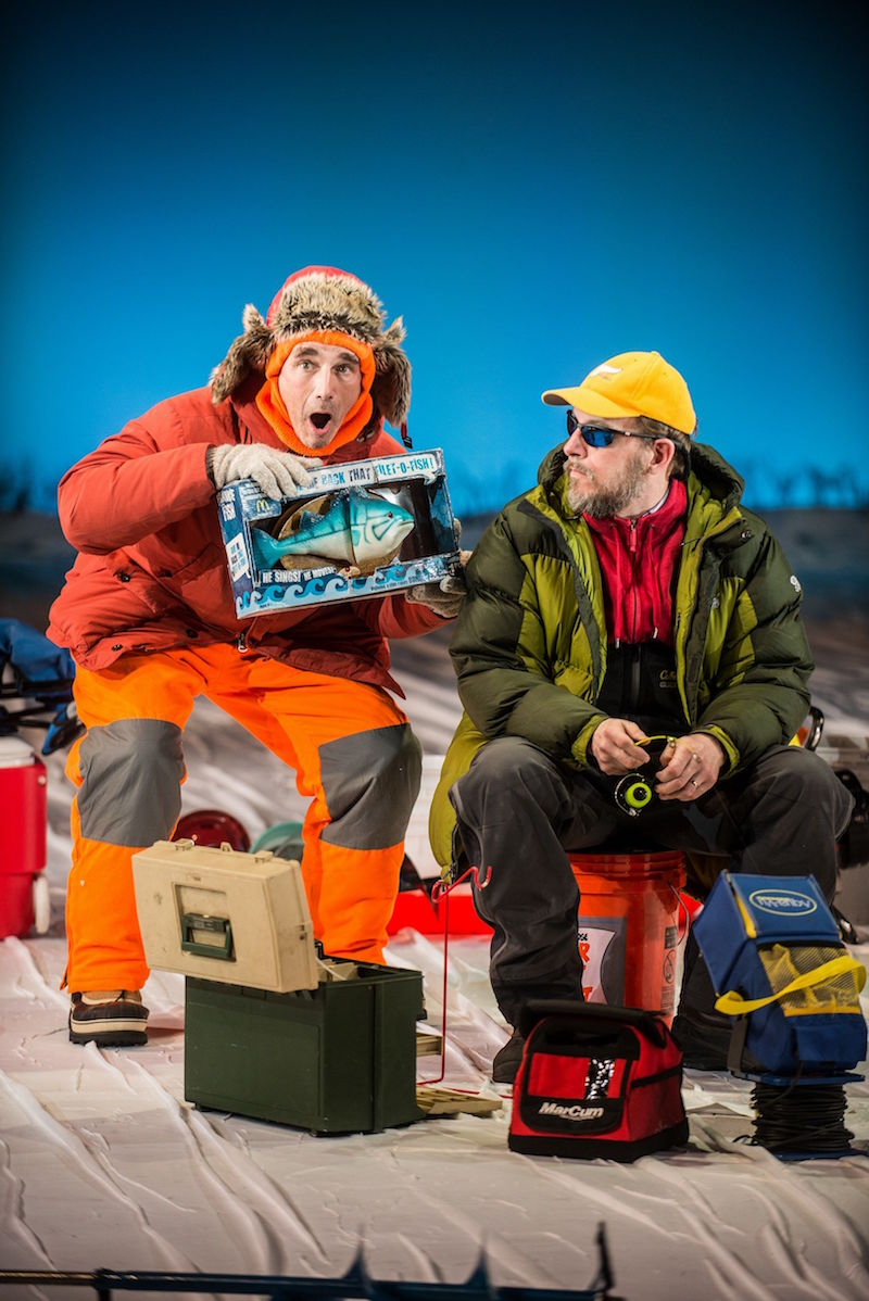 Mark Rylance and Louis Jenkins' NICE FISH Transfers to the West End