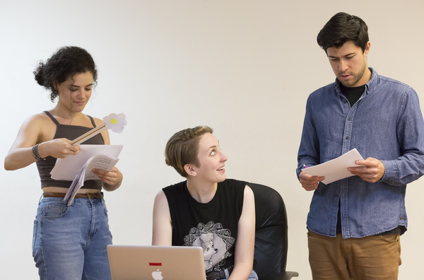 Photo Flash: NORMATIVITY Prepares for NYMF Run; Go Inside Rehearsal with the Cast!