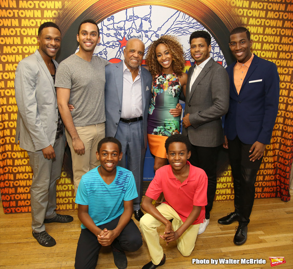 Leon Outlaw Jr., J.J. Batteast, Jarran Muse, Jesse Nager, Berry Gordy, Allison Semmes, Chester Gregory and Elijah Ahmad Lewis