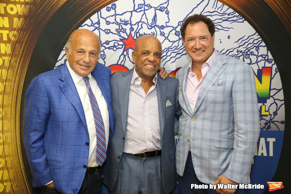 Doug Morris, Berry Gordy and Kevin McCollum  Photo