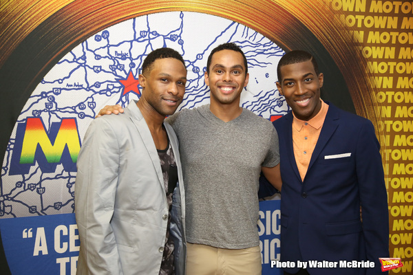 Jarran Muse, Jesse Nager and Elijah Ahmad Lewis