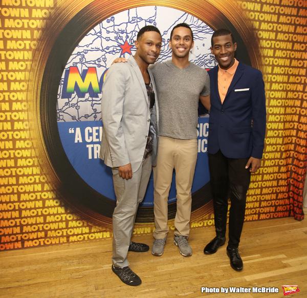 Jarran Muse, Jesse Nager and Elijah Ahmad Lewis  Photo