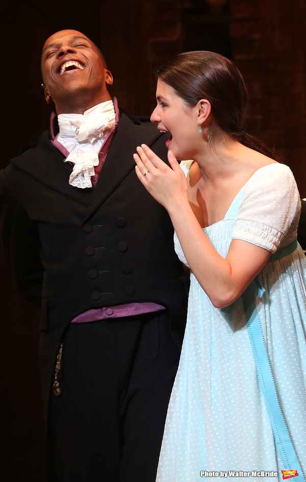 Leslie Odom Jr. and Phillipa Soo