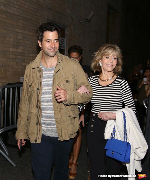 Tom Garity and Jane Fonda