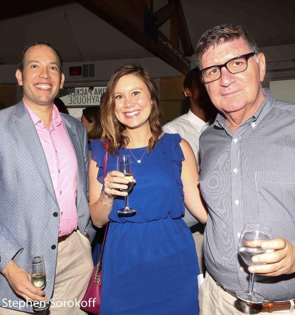 Ryan Leeds, Molly Clancy, Pete Sanders Photo