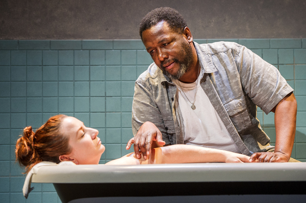 Wendell Pierce and Katy Sullivan