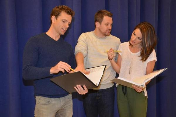 Paul Alexander Nolan, Michael Arden, and Kelli Barrett