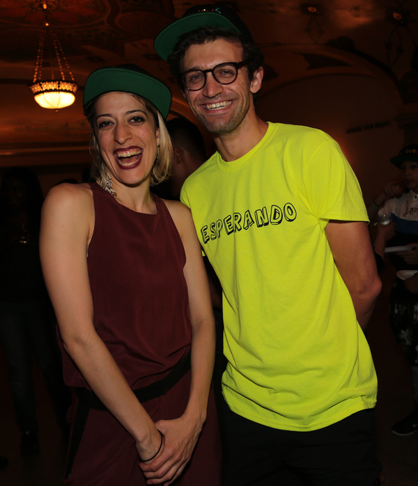 Ani Taj and  Sam Pinkleton Photo