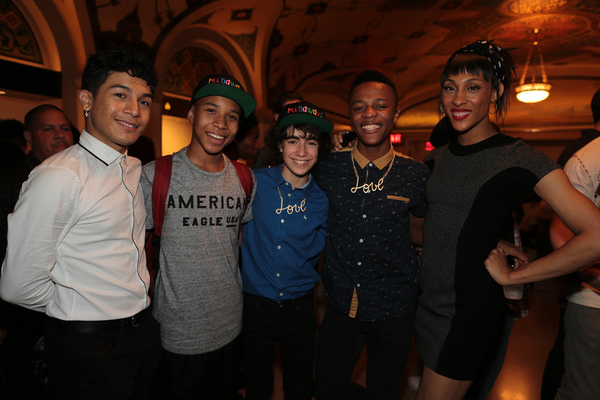 Maxwell Vice, Chris Sumpter, Aidan Gemme, Deandre Sevon, and MJ Rodriguez