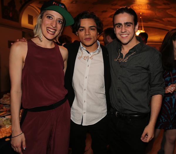 Ani Taj with Joshua DeJesus and Matthew Gumley Photo