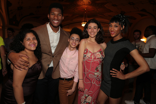 Christina Jimenez, Xavier Casimir, Kenneth Cabral, Siena Rafter, and MJ Rodriguez Photo