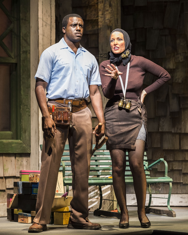 Davon Williams and Rachel York