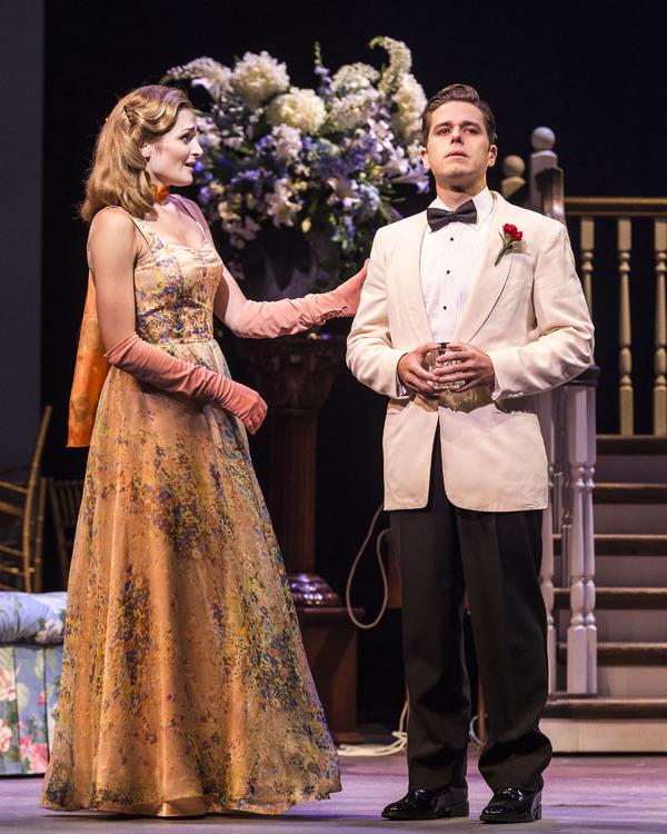 Sarah Hunt and Josh Young