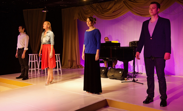 Photo Flash: In Rehearsal with TexARTS' MY WAY, A MUSICAL TRIBUTE TO FRANK SINATRA