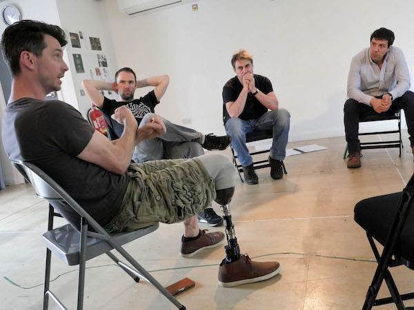 Photo Flash: In Rehearsal With THE TRIAL OF JANE FONDA