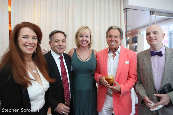 Leslie Laredo, Jeff Leibowitz, Maria von Nicolai, Bill Boggs Will Friedwald Photo