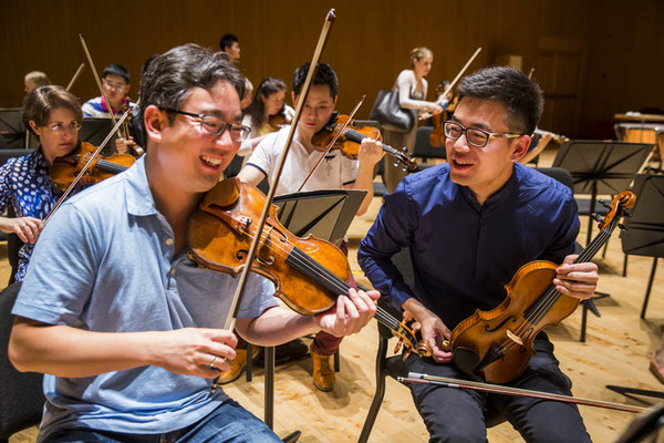New York Philharmonic Shanghai Residency 2016,  Shanghai, 7/06/16. Photo by Chris Lee