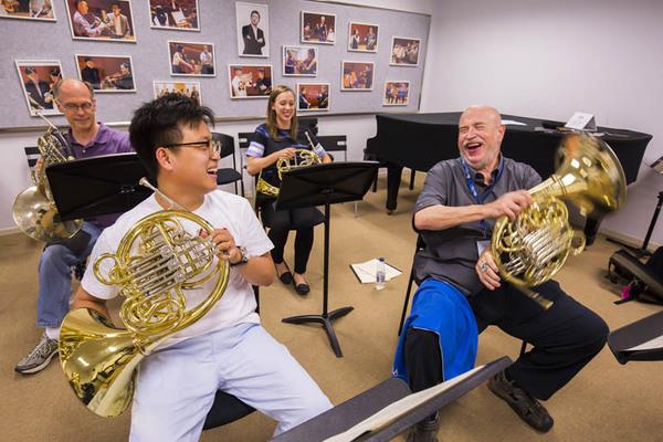 New York Philharmonic Shanghai Residency 2016,  Shanghai, 7/07/16. Photo by Chris Lee