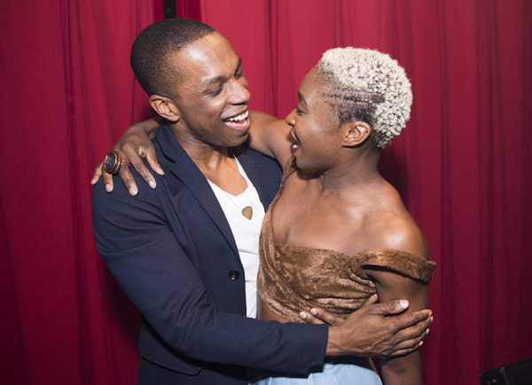 Leslie Odom Jr and Cynthia Erivo