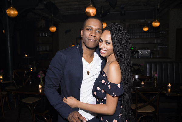 Leslie Odom Jr and Nicolette Robinson