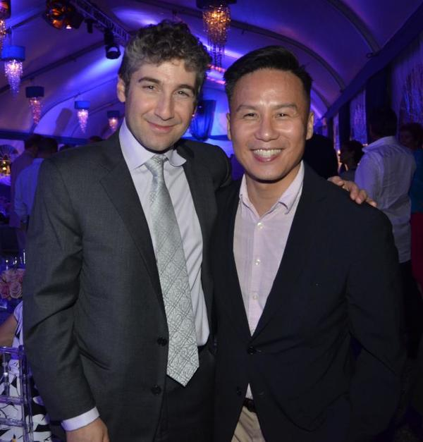 Scott Schwartz and BD Wong