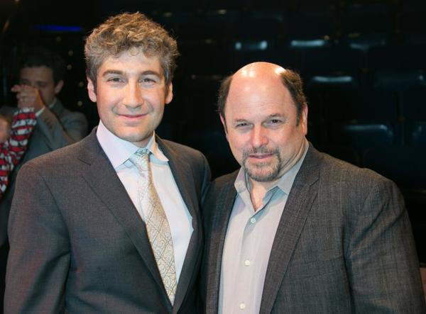 Scott Schwartz and Jason Alexander