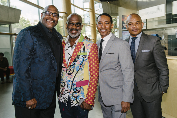 Marvin Winans, BeBe Winans and Charles Randolph-Wright and Warren Adams