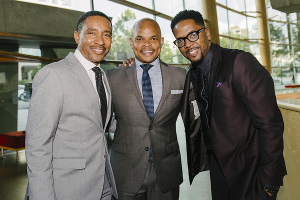 Charles Randolph-Wright, Warren Adams and Donald Lawrence
