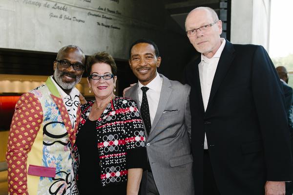 BeBe Winans and Charles Randolph-Wright, Molly Smith and  Edgar Dobie