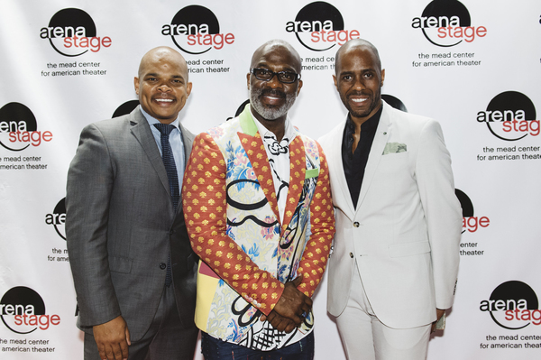 Warren Adams, BeBe Winans and Brian Harlan Brooks