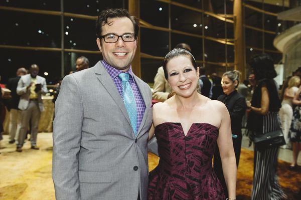 Chaz Pofahl and Kirsten Wyatt