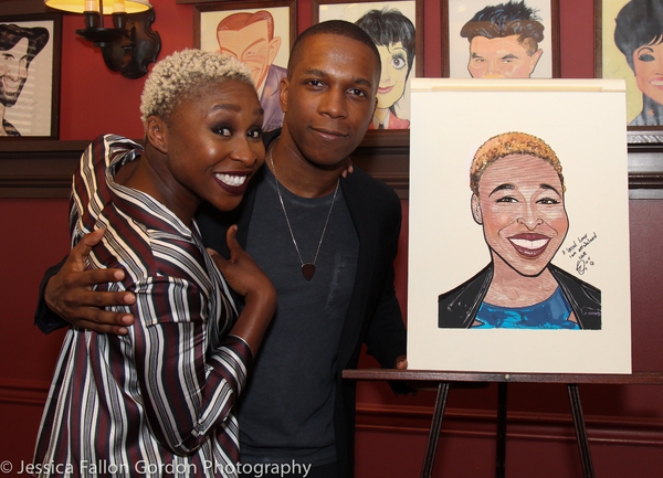 Cynthia Erivo and Leslie Odom Jr.