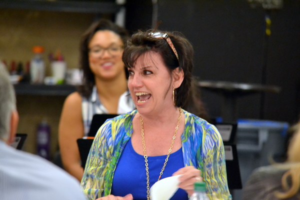 Photo Flash: In Rehearsal for THE PROM at Atlanta's Alliance Theatre with Christopher Sieber, Beth Leavel, Casey Nicholaw & More!