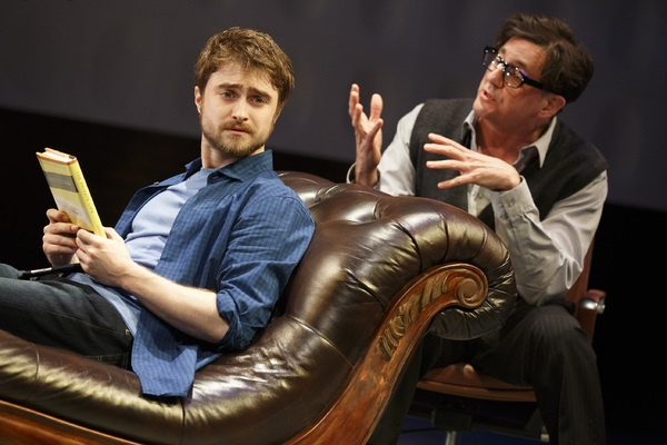 Daniel Radcliffe and Reg Rogers