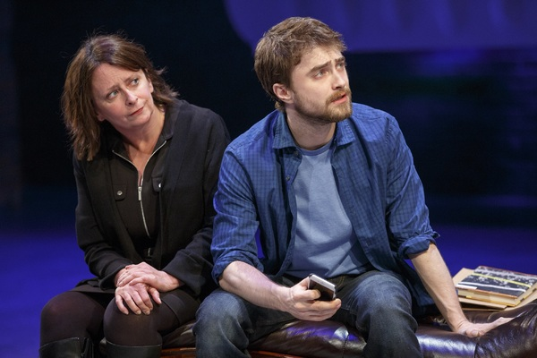 Rachel Dratch and Daniel Radcliffe